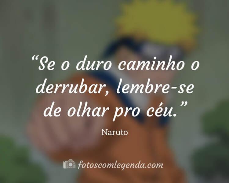 Frrase da Série Naruto, Anime