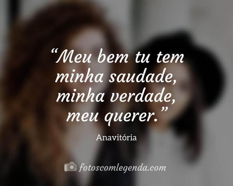 Frase Anavitória