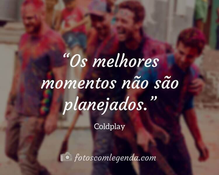 Frase Coldplay
