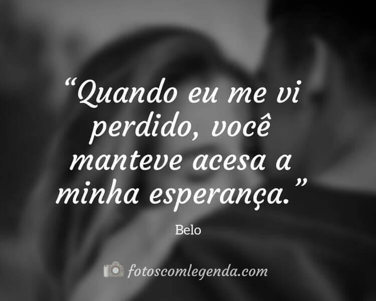 Frase Belo