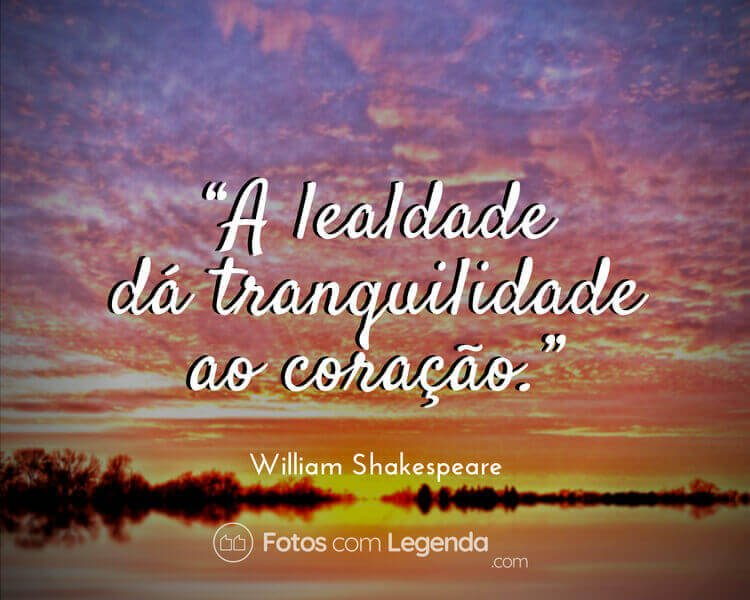 Frase William Shakespeare.