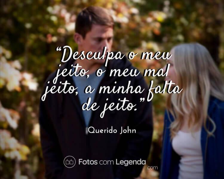 Frase Querido John.