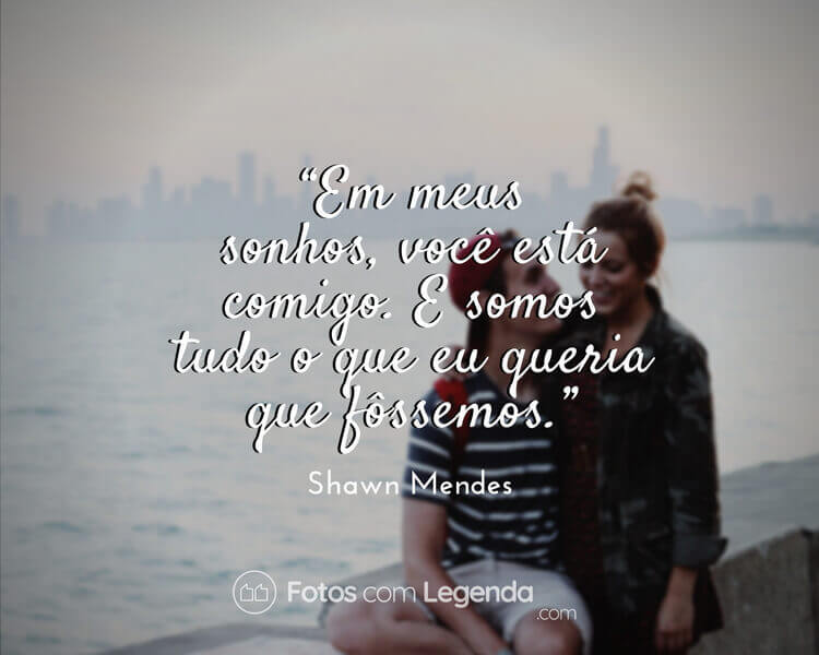 Frase Shawn Mendes.