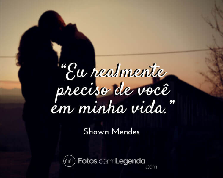 Frase Shawn Mendes.