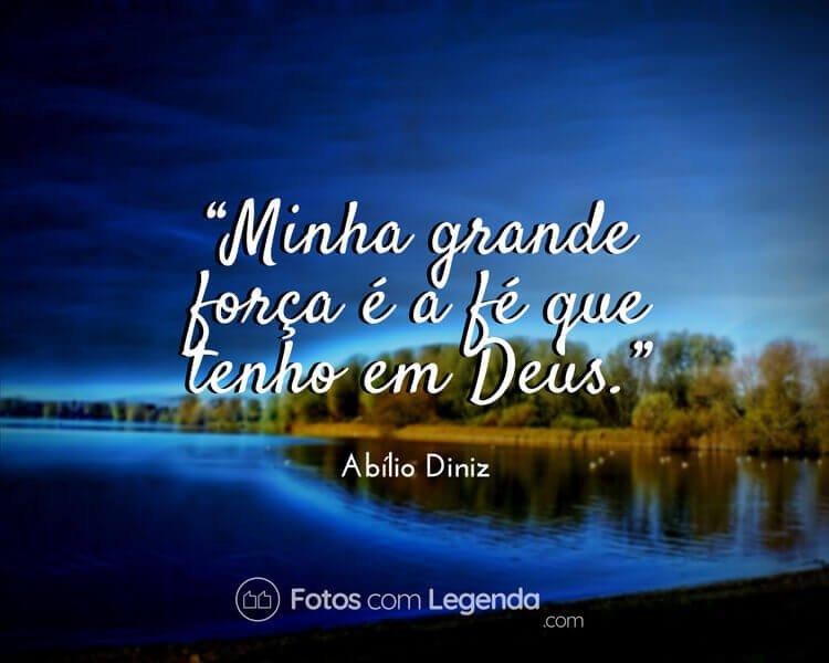 Frase Abílio Diniz.