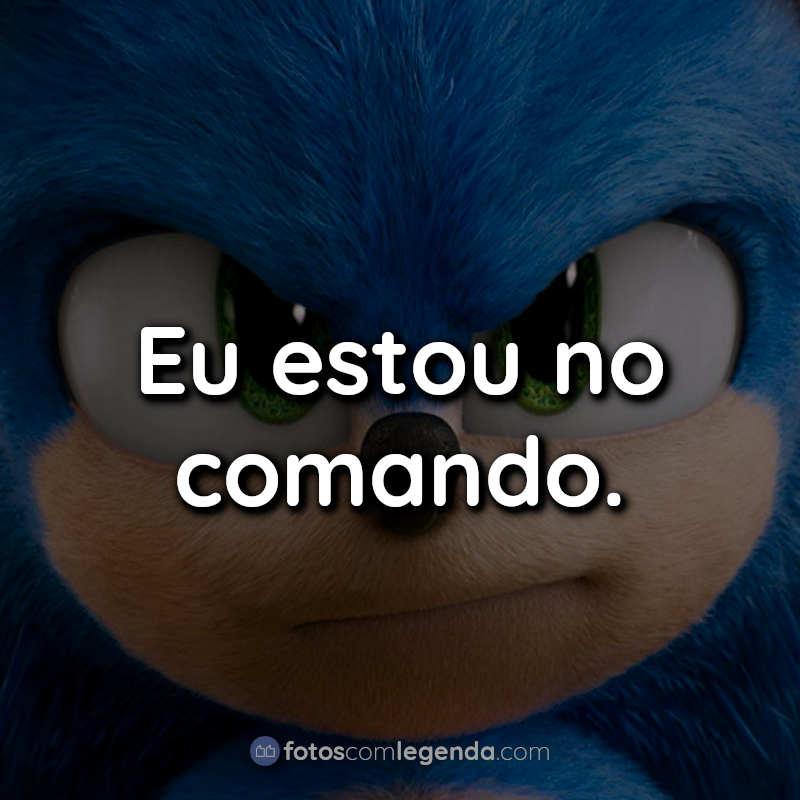 Sonic O Filme Frases.