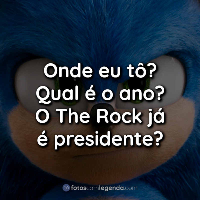 Frases Sonic O Filme.