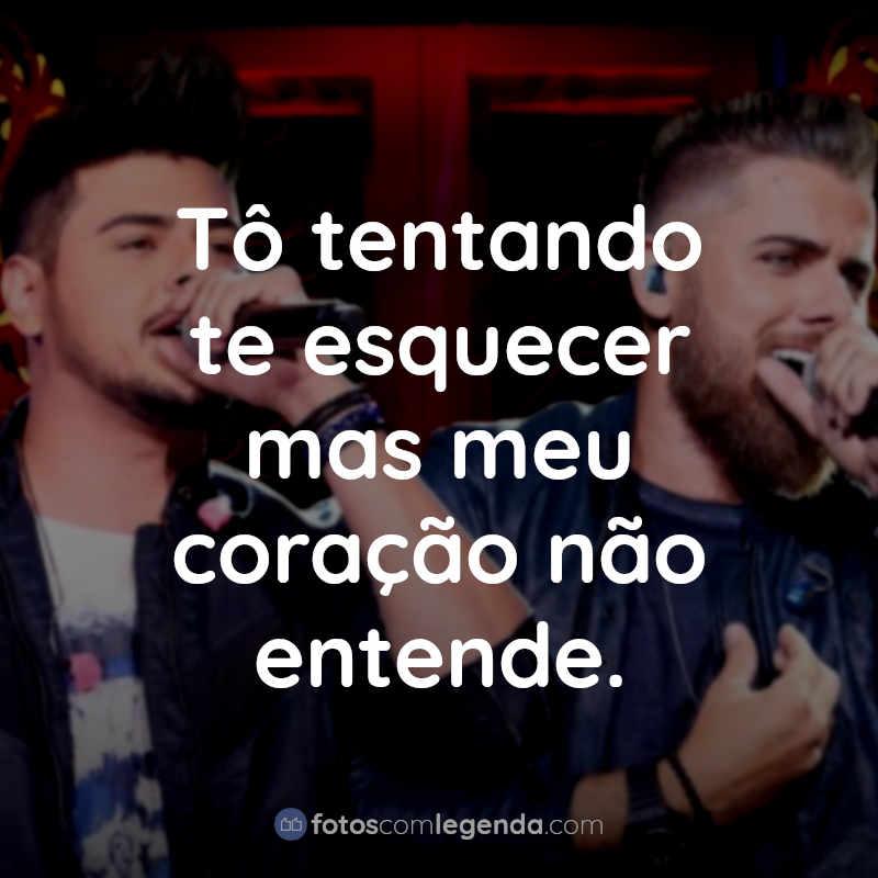 Frases Zé Neto e Cristiano: Tô tentando te esquecer.